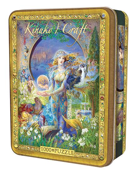 Kinuko Y. Craft Tin: Cybele`s Secret 1000pc Box Front