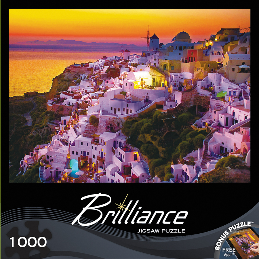 Brilliance: Evening View 1000pc Box Front