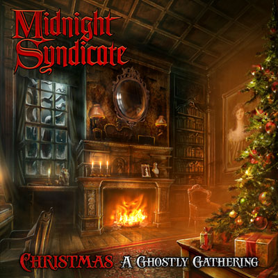 Fantasy Music: Midnight Syndicate-christmas, A Ghostly Gathering Cd Box Front