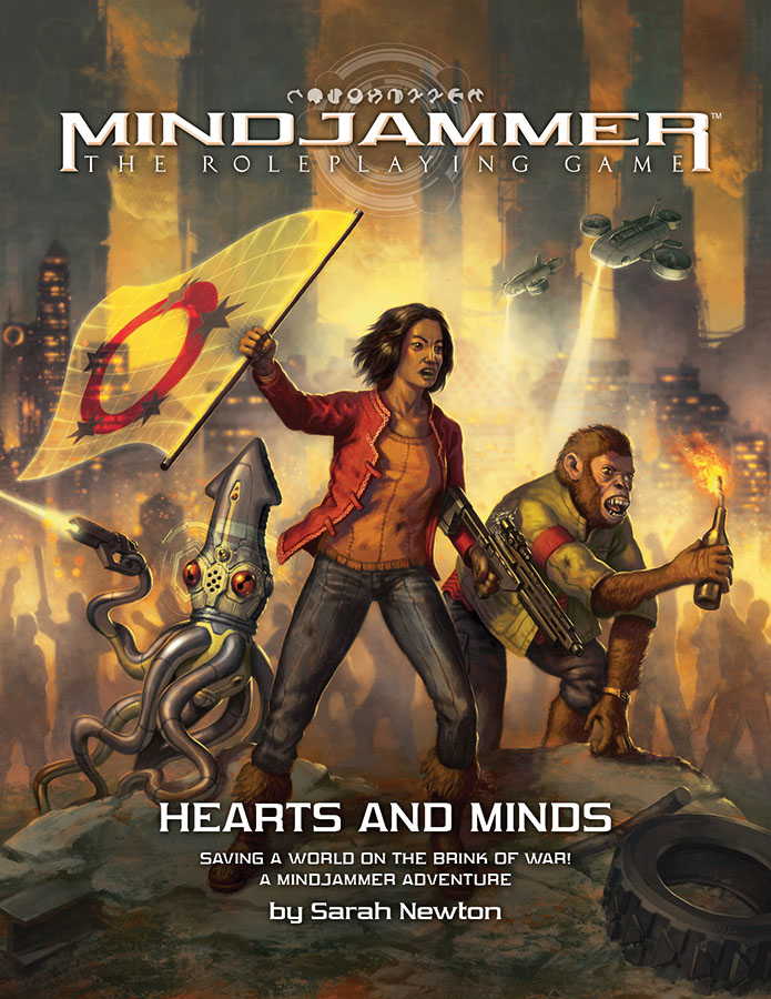 Fate Core Rpg: Mindjammer - Hearts And Minds Box Front