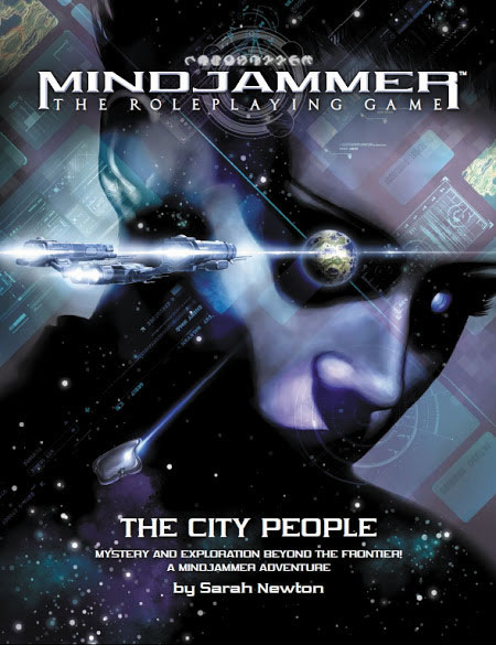 Fate Core Rpg: Mindjammer - The City People Box Front
