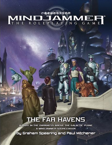 Fate Core Rpg: Mindjammer - The Far Havens Box Front