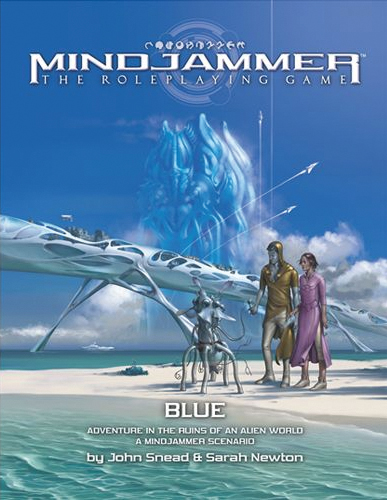 Fate Core Rpg: Mindjammer Blue - Adventure In The Ruins Of An Alien World Box Front