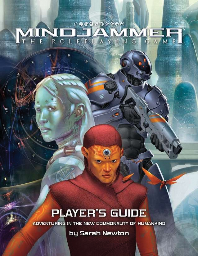 Fate Core Rpg: Mindjammer - The Player`s Guide Box Front