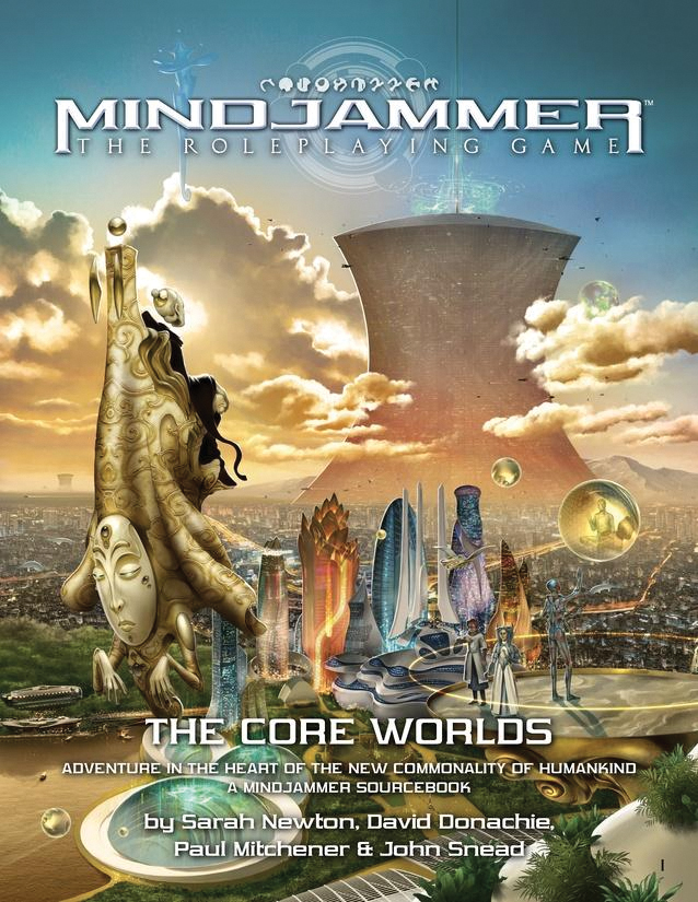Fate Core Rpg: Mindjammer - The Core Worlds Box Front