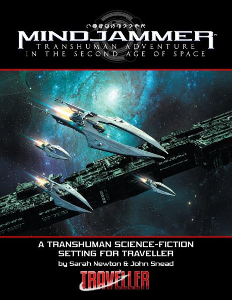 Mindjammer: Traveller Edition Box Front