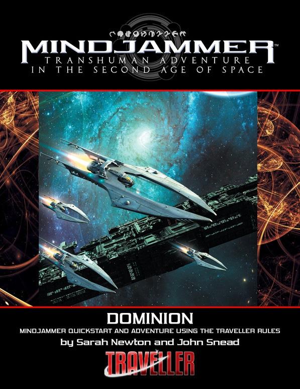 Mindjammer: Traveller Edition - Dominion Quickstart Box Front