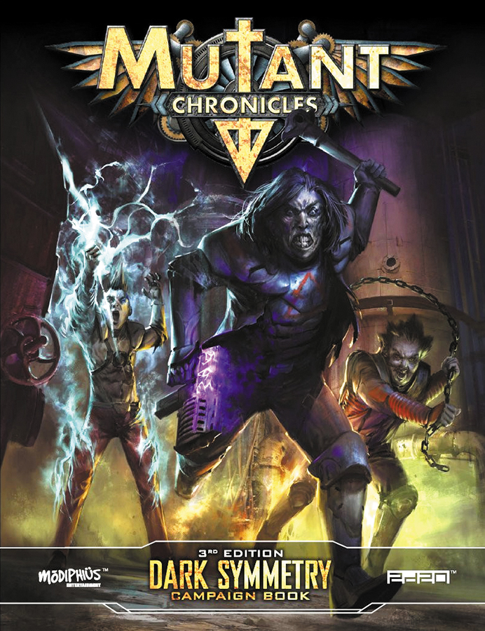 Mutant Chronicles Rpg: Dark Symmetry Campaign Box Front