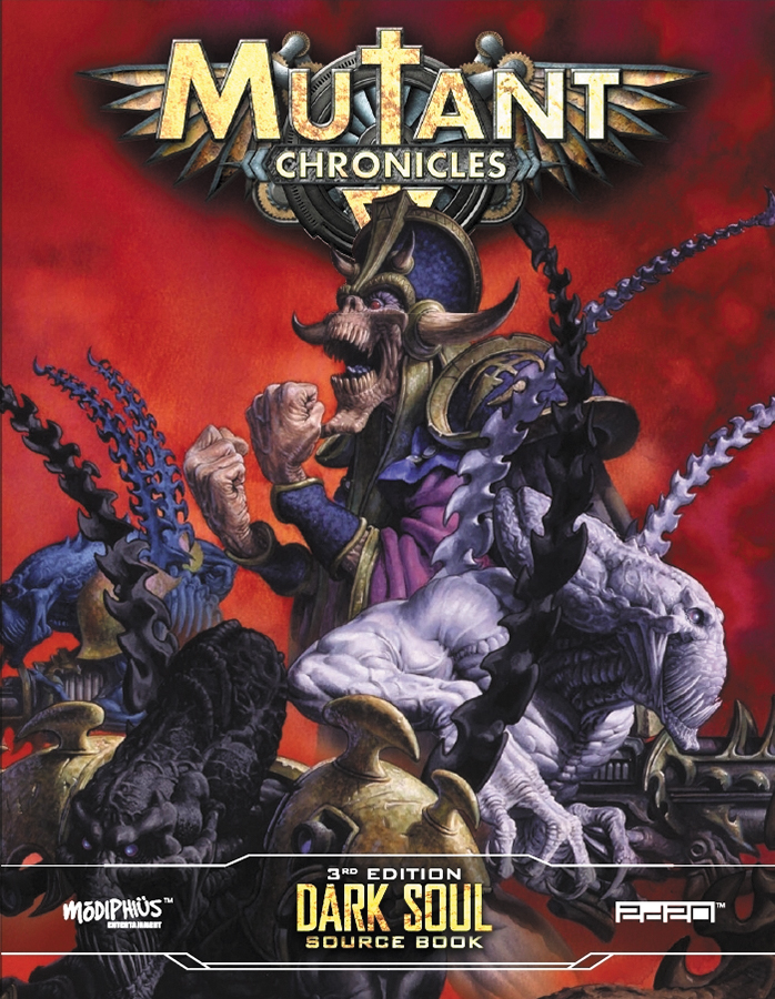 Mutant Chronicles Rpg: Dark Soul Source Book Box Front