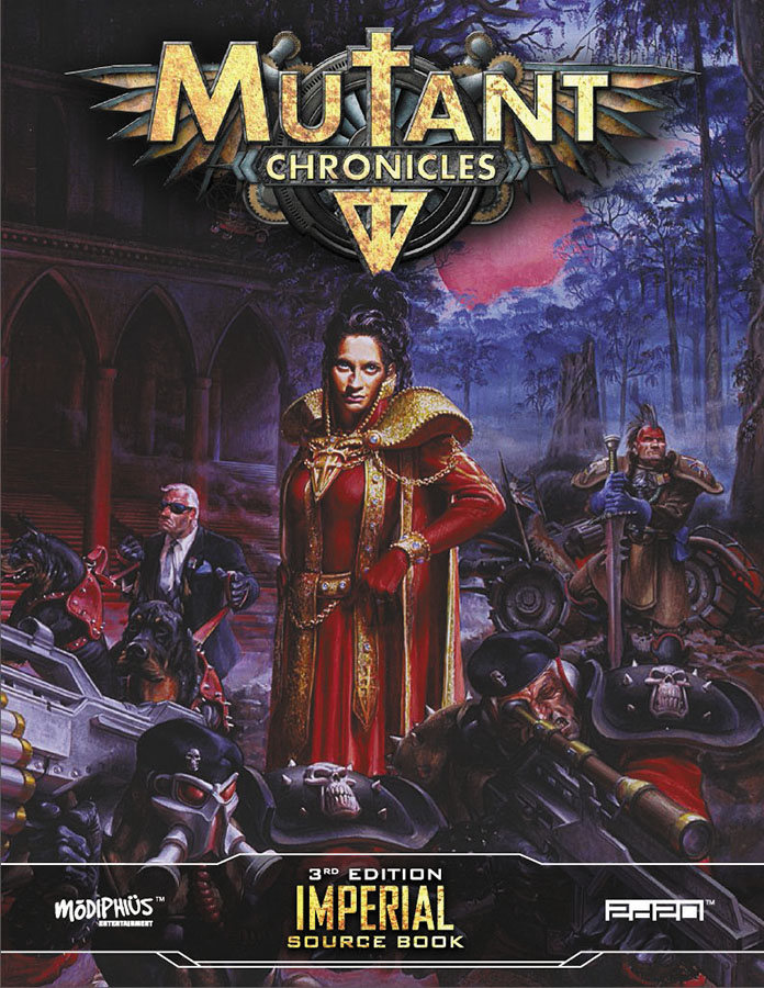 Mutant Chronicles Rpg: Imperial Source Book Box Front