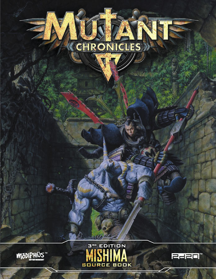 Mutant Chronicles Rpg: Mishima Source Book Box Front
