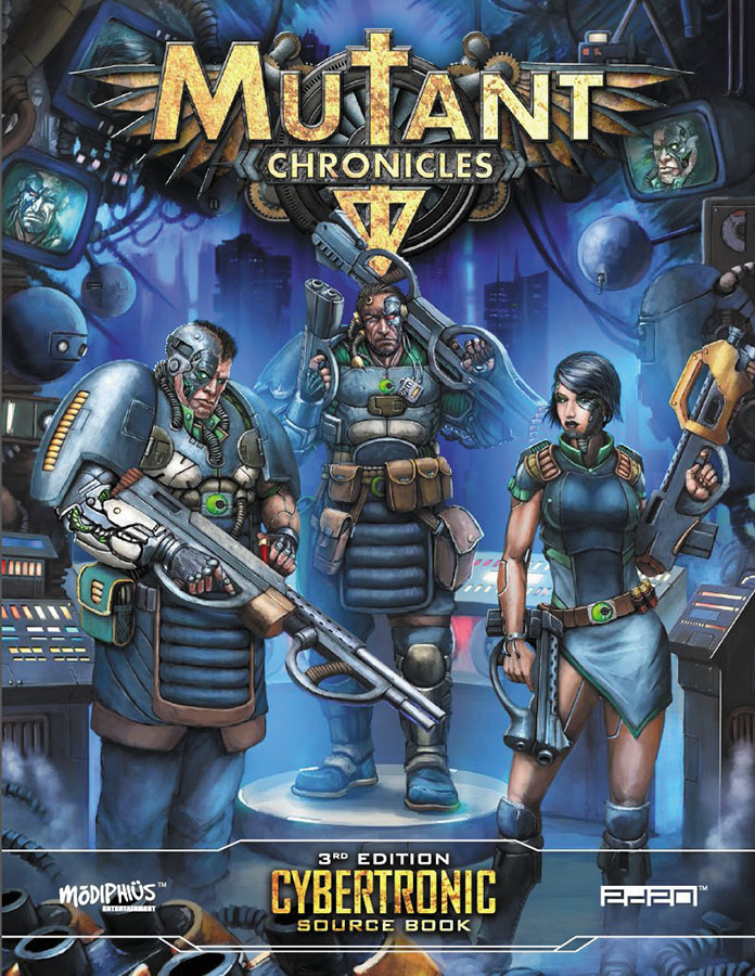 Mutant Chronicles Rpg: Cybertronic Source Book Box Front