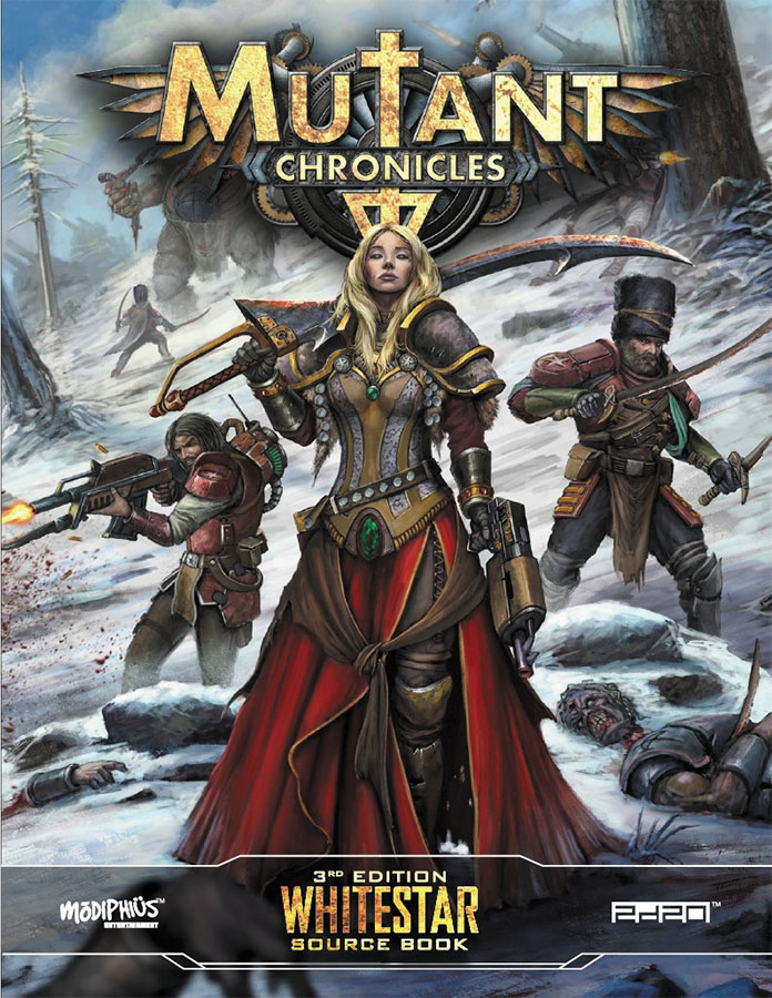 Mutant Chronicles Rpg: Whitestar Box Front