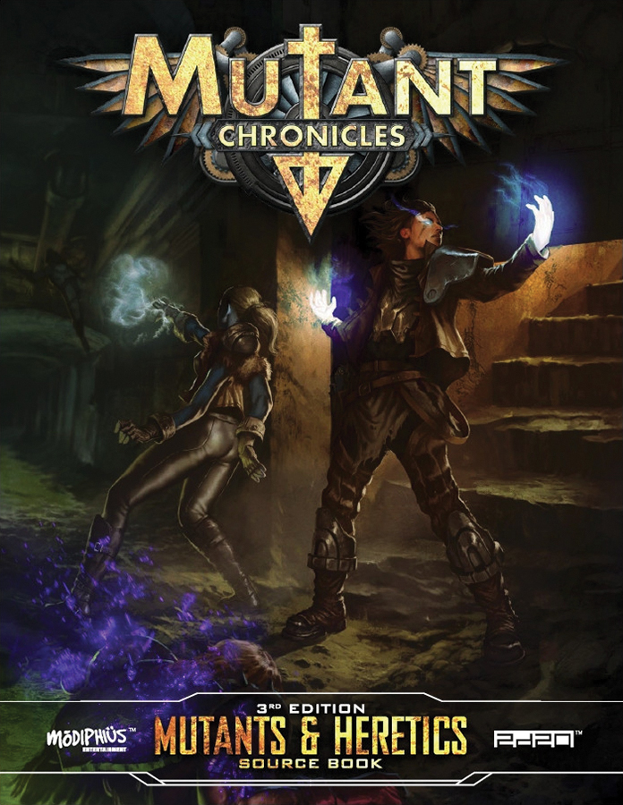 Mutant Chronicles Rpg: Mutants And Heretics Source Book Box Front