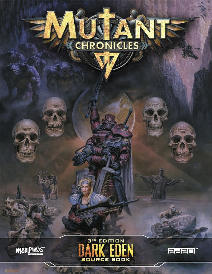 Mutant Chronicles Rpg: Dark Eden Source Book Box Front