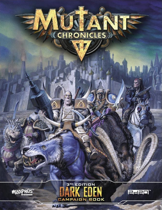 Mutant Chronicles Rpg: Dark Eden Campaign Box Front