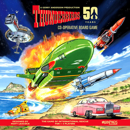 Thunderbirds Box Front