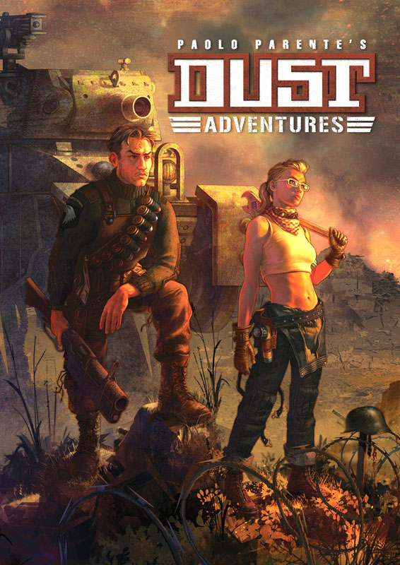 Dust Adventures Rpg: Core Rulebook Hardcover Box Front