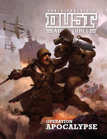 Dust Adventures Rpg: Operation Apocalypse Campaign Box Front