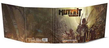 Mutant: Year Zero Rpg - Gm Screen Box Front