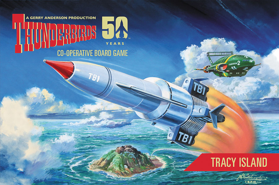 Thunderbirds: Tracy Island Box Front