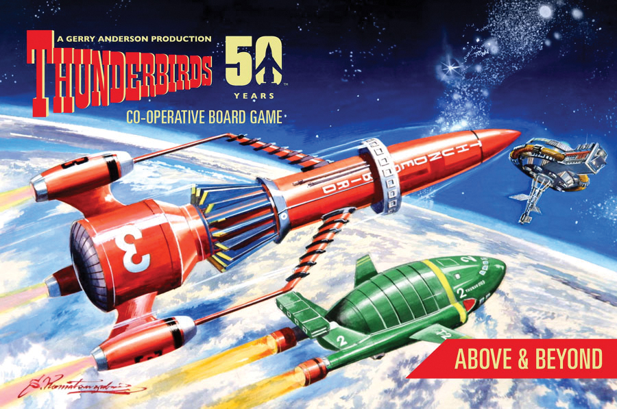 Thunderbirds: Above And Beyond Box Front