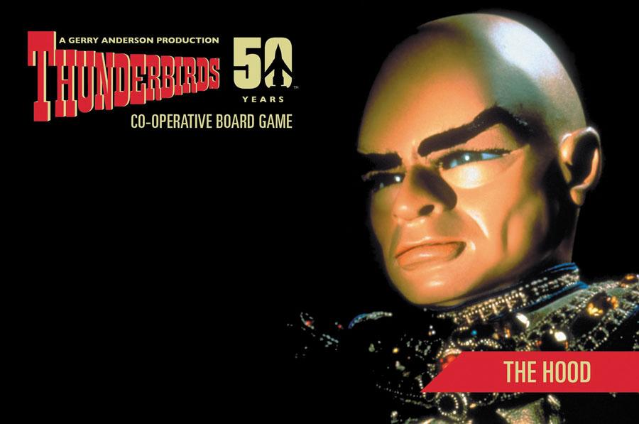Thunderbirds: The Hood Box Front