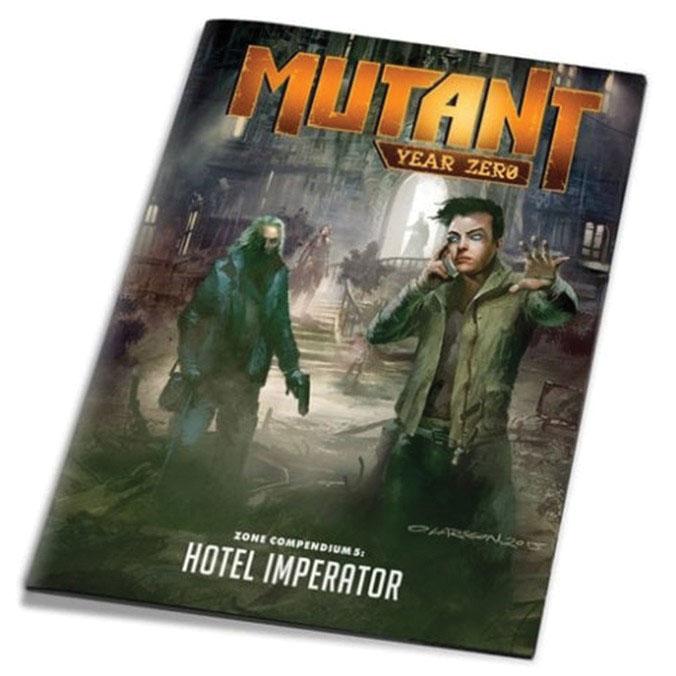 Mutant Year Zero Zone Compendium 5: Hotel Imperator Game Box