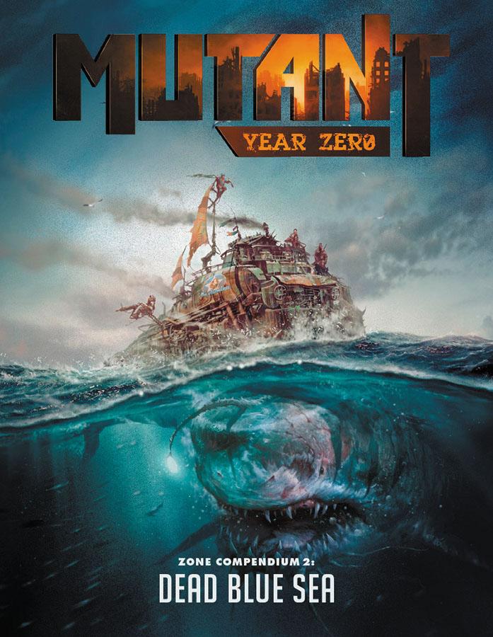 Mutant: Year Zero Rpg - Dead Blue Sea Box Front