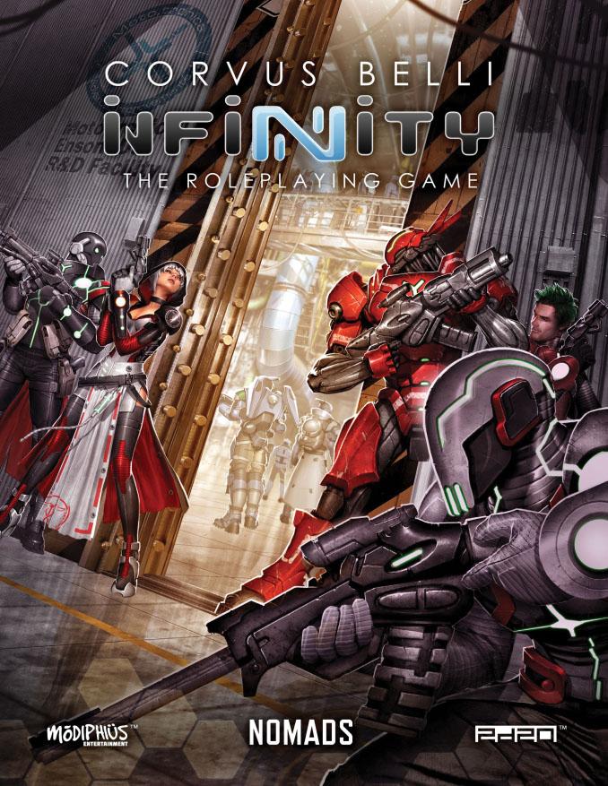 Infinity Rpg: Nomads Game Box