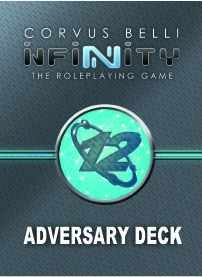 Infinity Rpg: Adversary Deck Game Box