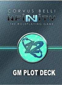 Infinity Rpg: Gm Plot Deck Game Box