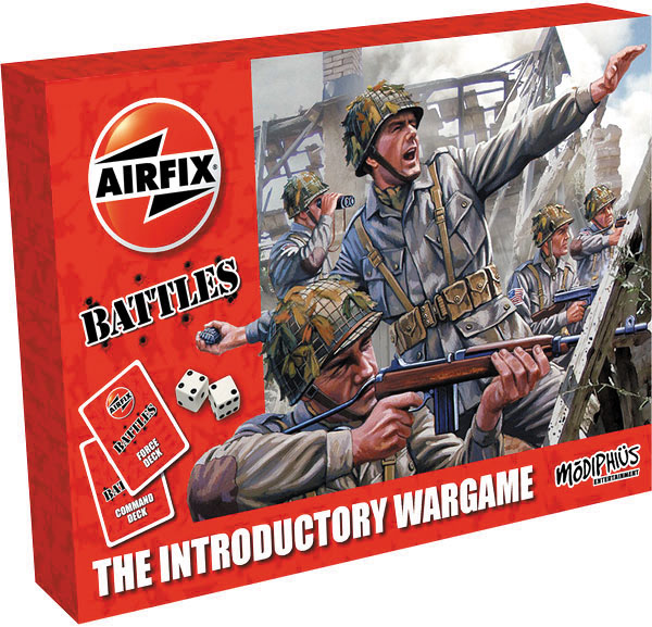 Airfix Battles: The Introductory Wargame Box Front