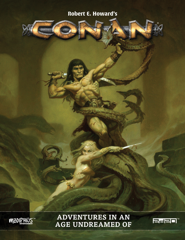Conan: Adventures In An Age Undreamed Of Box Front
