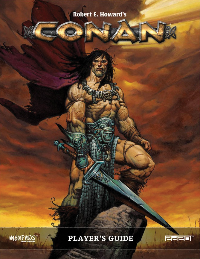 Conan: Player`s Guide Box Front