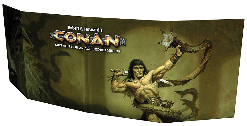 Conan: Gm Screen Box Front