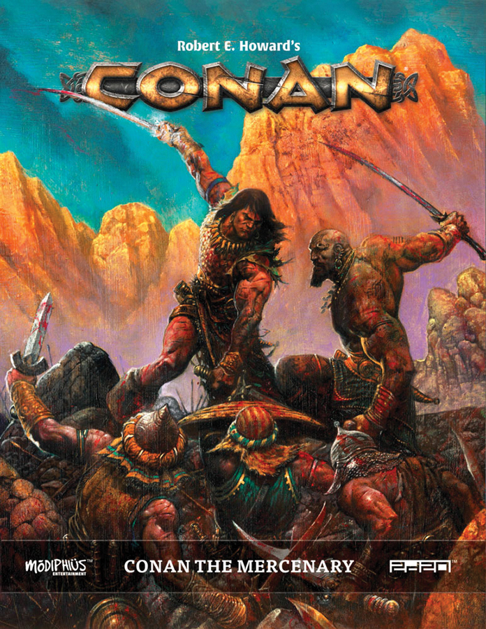Conan: The Mercenary Hc Box Front