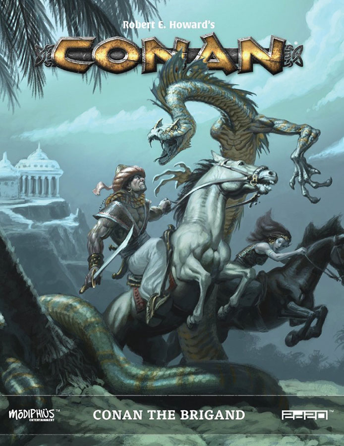 Conan: Conan The Brigand Game Box