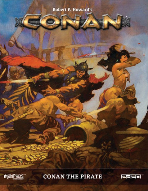 Conan: Conan The Pirate Game Box
