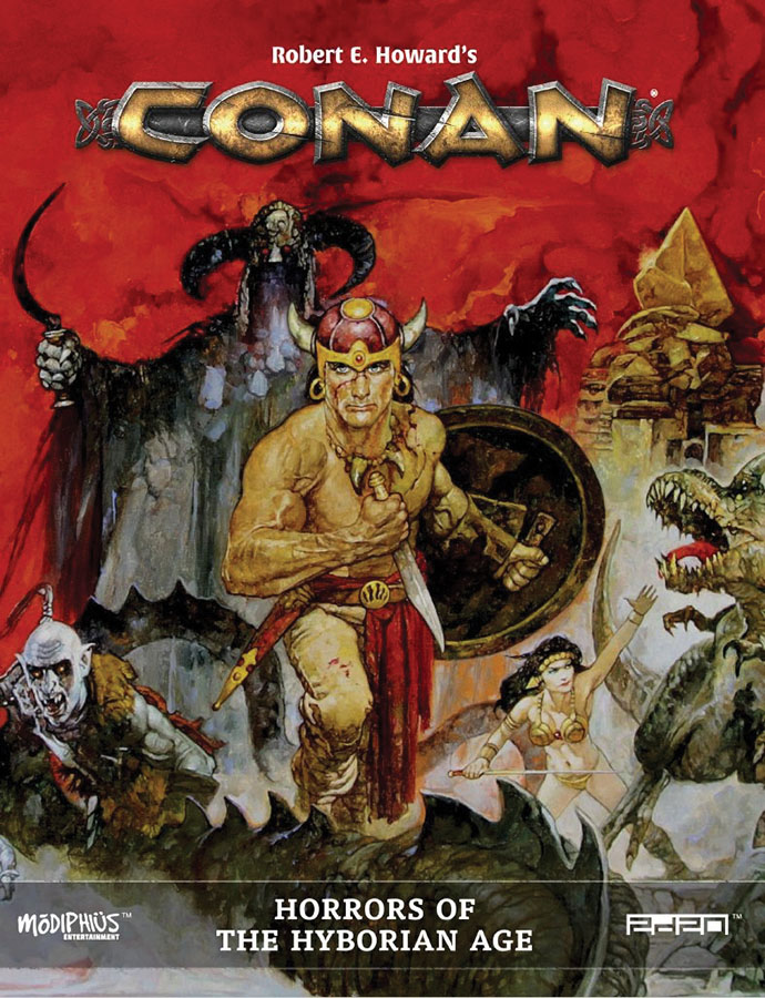 Conan: Horrors Of The Hyborian Age Game Box