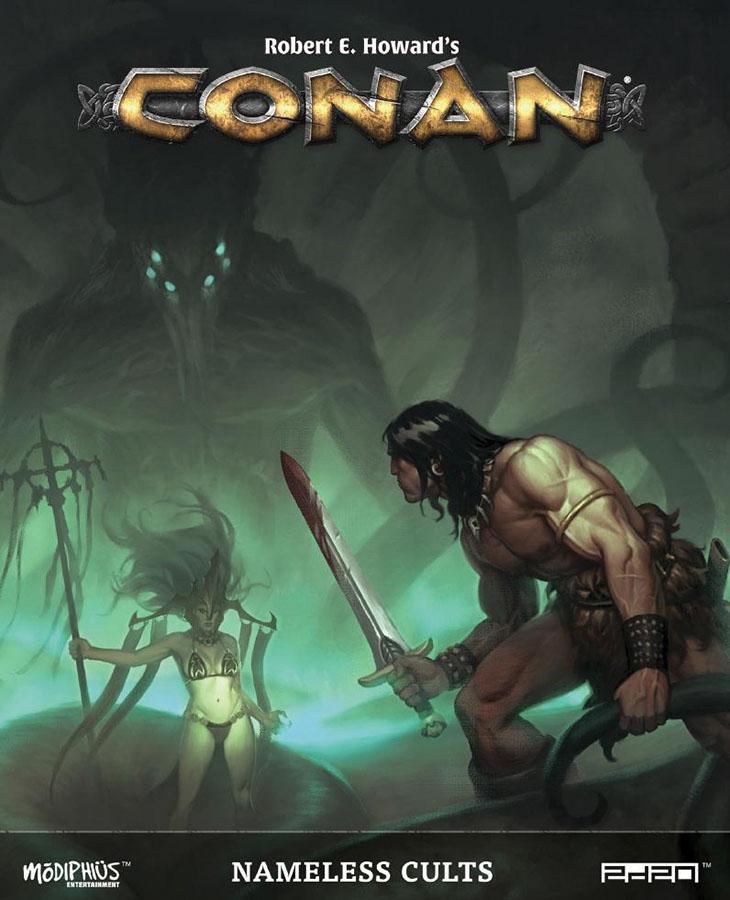 Conan: Nameless Cults Game Box