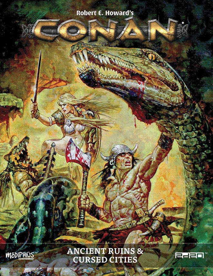 Conan: Ancient Ruins & Cursed Cities Game Box