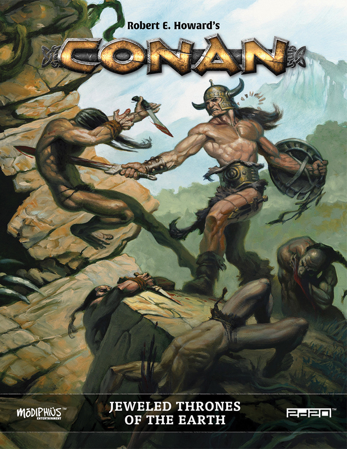 Conan: Jeweled Thrones Of The Earth Box Front