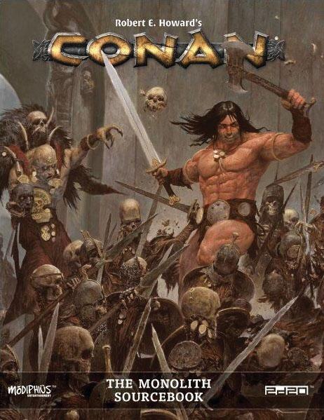 Conan: The Monolith Game Box