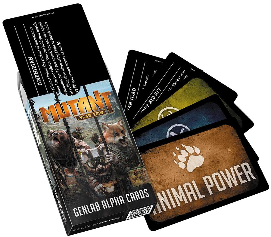 Mutant Year Zero: Genlab Alpha Deck Box Front