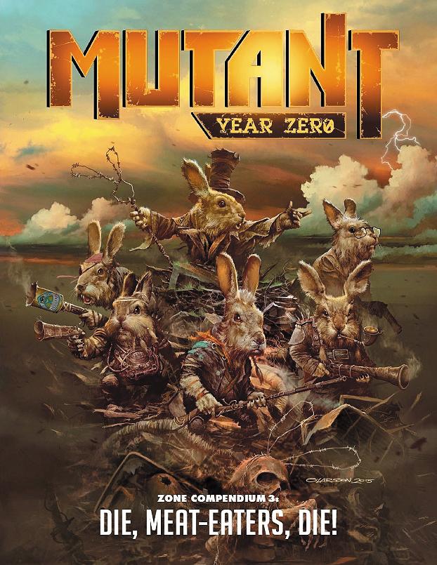 Mutant Year Zero: Die Meat Eaters Die Box Front