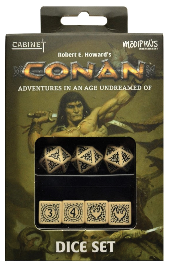 Conan: Dice Set Box Front