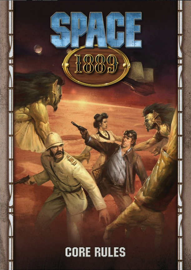 Space 1889: Revised Edition Box Front