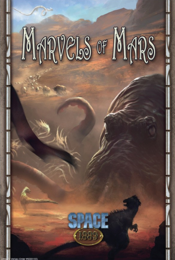 Space 1889: Marvels Of Mars Box Front