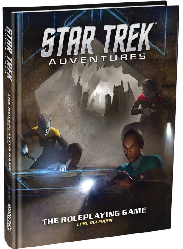 Star Trek Adventures Rpg: Core Rulebook Box Front